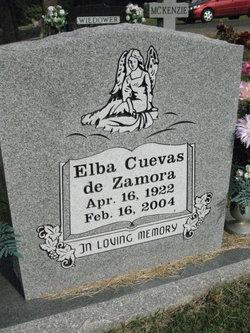 Elba Javiera <I>Cuevas</I>  de Zamora