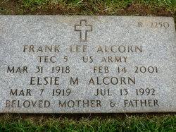 Elsie M Alcorn