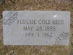 Flossie Rose <I>Cole</I> Reed