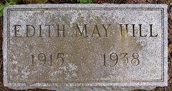 Edith May <I>Jones</I> Hill