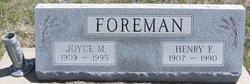 Joyce Magdalene <I>Lyon</I> Foreman