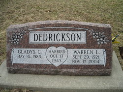 "Warren Leonard ""Pat"" Dedrickson"