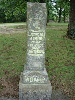 Lizzie M Adams