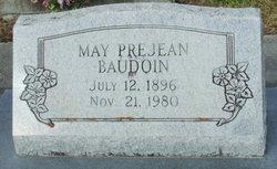 May <I>Prejean</I> Baudoin