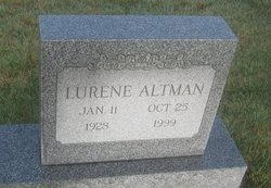 Lurene Rae <I>Hardy</I> Altman