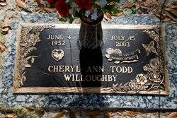 Cheryl Ann <I>Todd</I> Willoughby