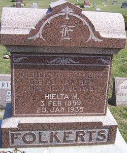 Hielta Margretha <I>Habben</I> Folkerts