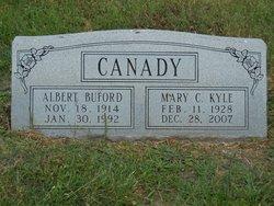 """Mary Clementine """"Tiny"""" <I>Kyle</I> Canady"""