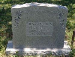 Henry Milton Burnett