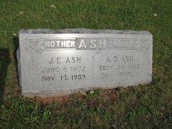 Julia E. <I>Stephens</I> Ash
