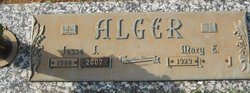 Mary Evelyn <I>Pence</I> Alger