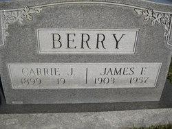 Carrie J <I>Corbin</I> Berry