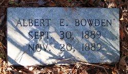 Albert Elliott Bowden