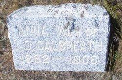 Anna Christine <I>Huck</I> Calbreath