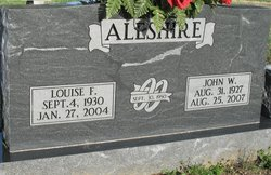 Louise F Aleshire