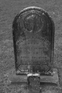 Mrs Mary Agnes <I>Ketsterson</I> Abernathy
