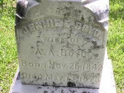 Jennie E Boyd