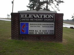 Elevation Church Cemetery