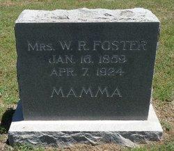 Lady W. R. Foster