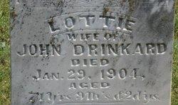 "Charlotte ""Lottie"" <I>Hudson</I> Drinkard"