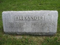 Mrs Emily <I>Babcock</I> Alexander