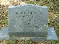 Amelia Bernice <I>Sutton</I> Appling