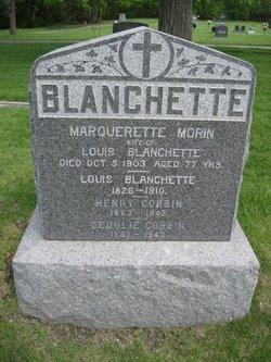 Marquerette <I>Morin</I> Blanchette