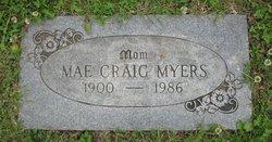 Mae <I>Whittle</I> Myers