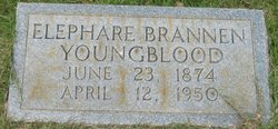 "Mary Elephare ""Ella"" <I>Brannen</I> Youngblood"