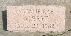 Natalie Rae Albert