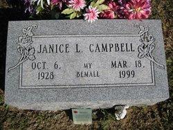 Janice Louise <I>Richards</I> Campbell
