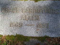 Grace L <I>Carruthers</I> Allen