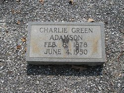 "Charles Green ""Charlie"" Adamson"