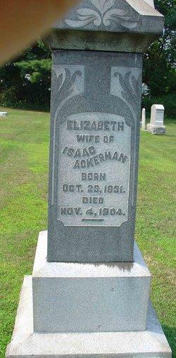 Elizabeth <I>Long</I> Ackerman