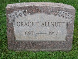 Grace Ellen <I>Jackson</I> Allnutt