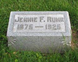 Jennie F Ruhr