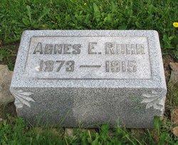 Agnes E Ruhr