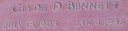 Clyde Derwin Bennett