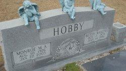 Betty <I>Wiggins</I> Hobby