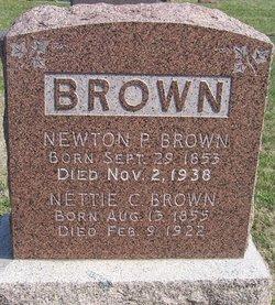 "Antoinette Catalina ""Nettie"" <I>Garlock</I> Brown"