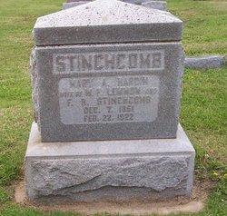 Mary A. <I>Hardin</I> Stinchcomb