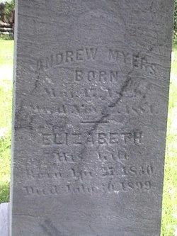 Elizabeth <I>Coblentz</I> Myers