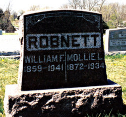 "Mary Lomonia ""Mollie"" <I>Stansell</I> Robnett"