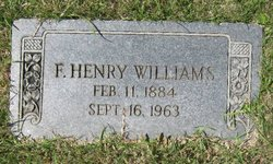 Francis Henry Williams