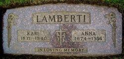 Anna <I>Meindl</I> Lamberti