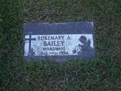 Rosemary Allen <I>Hardman</I> Bailey