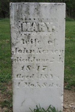 Mary <I>Hill</I> Kersey