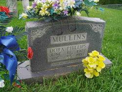 Dora <I>Phillips</I> Mullins