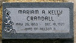 Mariam A. <I>Kelly</I> Crandall