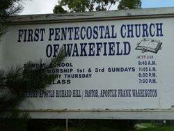 First Pentecostal Church Cemetery